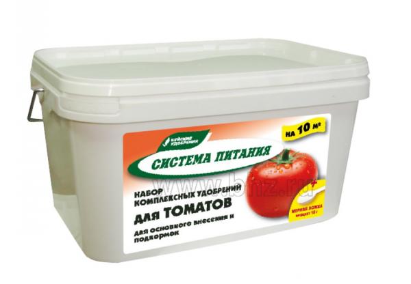 Система питания для томата