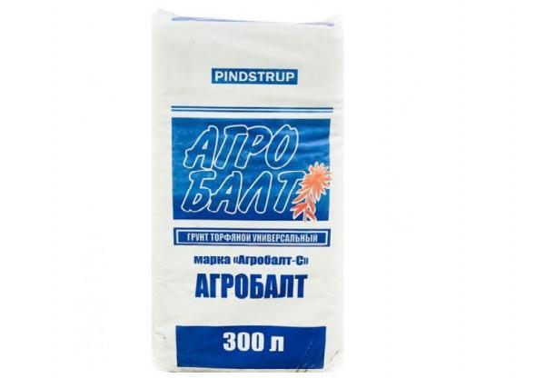Универсальный торфогрунт АгроБалт-С 300л